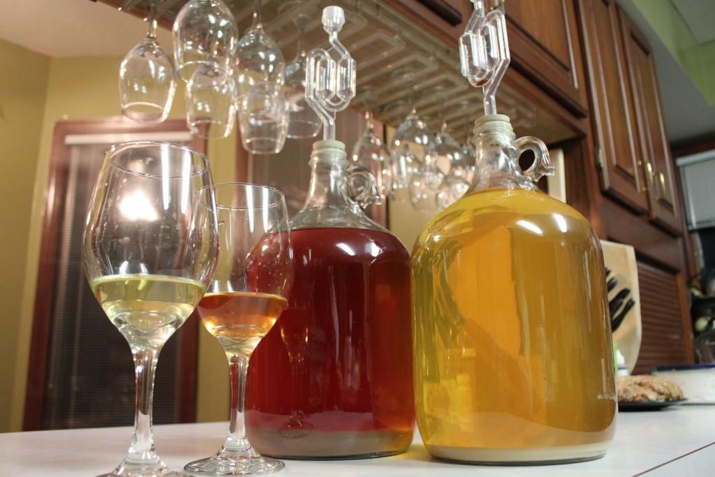 Hjemmelavet vin