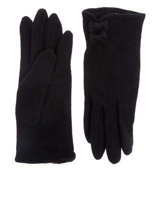 Uld smart Handske med sløjfer handsker
